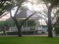(DeLeon Plaza and Bandstand)